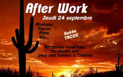 AFTER WORK JEUDI 24/09